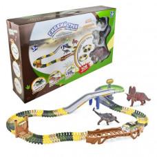 1 Toy Гибкий трек Динопарк (108 деталей)