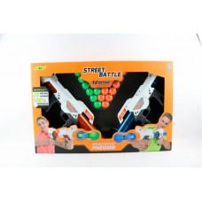 1 Toy Игрушечное оружие Street Battle с мягкими шариками 20 шт.