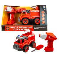 1 Toy Машинка Экстренные службы пожарный грузовик на радиоуправлении