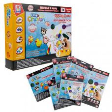1 Toy Набор Clay Crayon тесто-мелков 4 цвета по 30 г