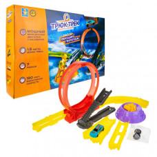 1 Toy Набор Трюк-трек Высший пилотаж с машинкой и аксессуаром