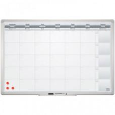 2х3 Доска-планинг на месяц магнитно-маркерная Office 60х90 см