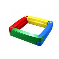 2Kids Пластиковая песочница из 4-х элементов