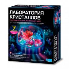 4М Набор Лаборатория кристаллов Суперколлекция меняющая цвет