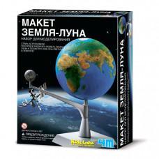 4М Набор Макет Земля-Луна