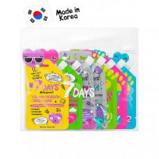 7Days Beauty bag подарочный набор средств по уходу за кожей лица и тела intergalacti mix