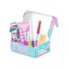 7Days Подарочный набор для голографического макияжа shine bombita crystal box №402 6 средств