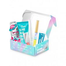7Days Подарочный набор для голографического макияжа shine bombita crystal box №403 6 средств