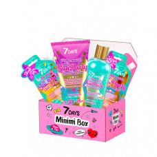 7Days Подарочный набор солнцезащитных средств по уходу за кожей лица и тела minimi box №105