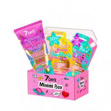 7Days Подарочный набор солнцезащитных средств по уходу за кожей лица и тела minimi box №106