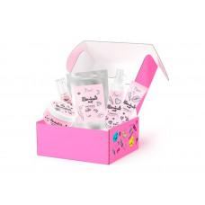 7Days Подарочный набор средств по уходу за кожей лица и тела heart box №302