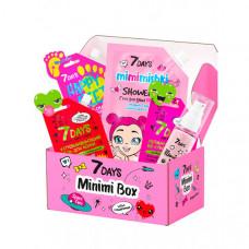 7Days Подарочный набор средств по уходу за кожей лица и тела minimi box №103