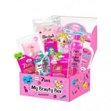 7Days Подарочный набор средств по уходу за кожей лица, тела и волосами my beauty box №201