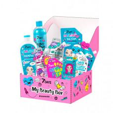 7Days Подарочный набор средств по уходу за кожей лица, тела и волосами my beauty box №205
