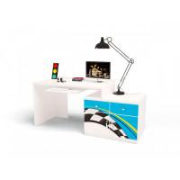 ABC-King Стол модульный Г и Тумба 400+400 La-Man (левый)