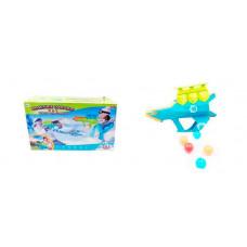 ABtoys Бластер для водных бомбочек, мячей и снежков Веселые забавы 2 в 1