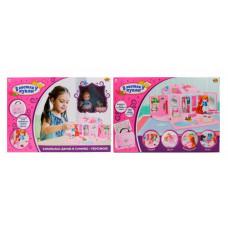 ABtoys В гостях у куклы Дом кукольный с аксессуарами