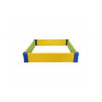 Альтернатива (Башпласт) Ограждение для игры с песком квадратное