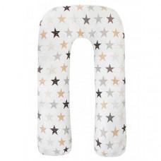 AmaroBaby Подушка для беременных U-образная Звезды пэчворк 340х35 см