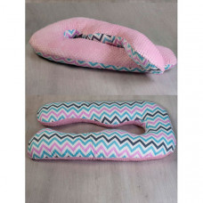 AmaroBaby Подушка для беременных Зигзаг AMARO-40A-ZR 340х72 см