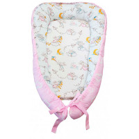 AmaroBaby Подушка-позиционер для сна Little Baby Мышата в облаках