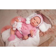 Arias ReBorns Новорождённый пупс Elina 40 см