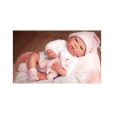 Arias ReBorns Новорождённый пупс с аксессуарами Gala 40 см