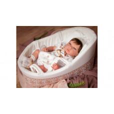 Arias ReBorns Новорождённый пупс с соской Candy 40 см
