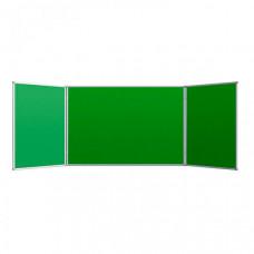 Attache Доска 2-створчатая магнитно-маркерная меловая 100х300 см