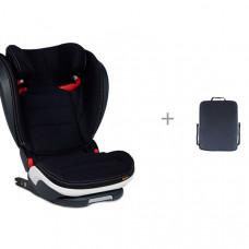 Автокресло BeSafe iZi Flex S Fix Premium Car Interior Black и защитная накидка Экокожа ProtectionBaby