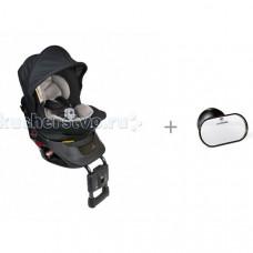 Автокресло Carmate Kurutto NT2 Premium с автомобильным зеркалом Ailebebe Monitor Mirror