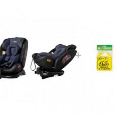 Автокресло Carrello Asteroid ST-3 и Знак автомобильный Baby Safety Ребенок в машине
