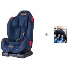 Автокресло Coletto Santino и АвтоБра Защита сиденья из ткани