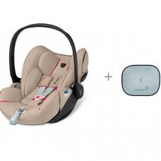 Автокресло Cybex Cloud Z i-size FE Ferrari и солнцезащитные шторки Safety 1st
