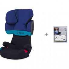 Автокресло Cybex Solution X и АвтоБра Фиксатор головы ребенка для автокресла
