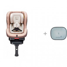 Автокресло Daiichi First 7 Plus Organic Isofix с защитной шторкой от солнца Safety 1st