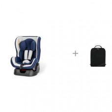 Автокресло Esspero Young-GS и защитный коврик на спинку передних автомобильных сидений Brica Munchkin