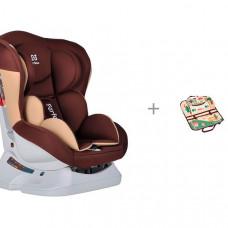 Автокресло Farfello GM0921 и Органайзер для автомобиля детский Bradex Машины