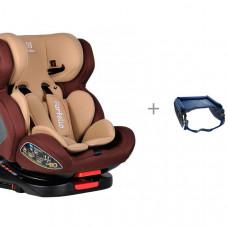Автокресло Farfello GM0932 с дорожным столиком для детского автокресла Bradex Весёлое путешествие