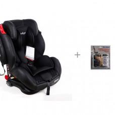 Автокресло Indigo Bento Isofix SPS с защитой спинки сиденья от грязных ног ребенка АвтоБра