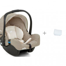 Автокресло Joie Gemm и вкладыш для новорожденного в детское автокресло АвтоБра