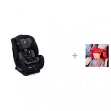 Автокресло Joie Stages и Клювонос Фиксатор головы ребенка для автокресла Мяу