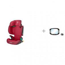Автокресло Maxi-Cosi Morion и зеркало с подсветкой для наблюдения за ребенком Speculo luce Nuovita