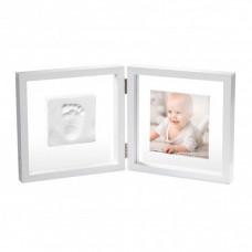 Baby Art Рамочка двойная прозрачная Baby Style с отпечатком