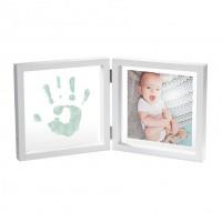 Baby Art Рамочка двойная прозрачная Baby Style с отпечатком краской