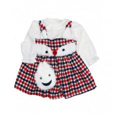 Baby Rose Комплект для девочки (сарафан, кофта, сумка) 3230