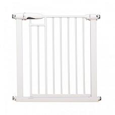 Baby Safe Барьер-калитка для дверного проема на магнитном замке 76-83 см