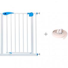Baby Safe Барьер-калитка для дверного проема с безопасной мягкой лентой ПОМА 2 м
