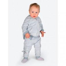 BabyBunny Костюм детский велюровый (брюки, толстовка) Зайка