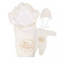 Babyglory Комплект на выписку Счастье лето (4 предмета)